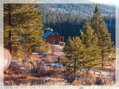 Our Cabin in Winter